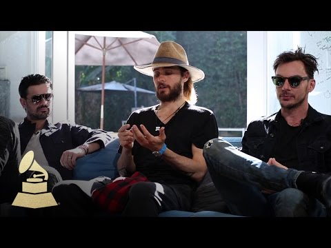 """30 Seconds To Mars Creative Process For """"Love Lust Faith Dreams""""   GRAMMYs"""
