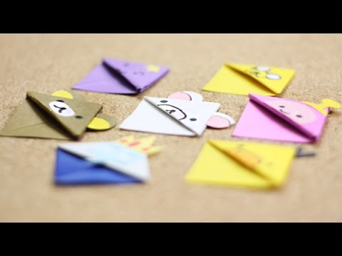 Cách làm kẹp sách bằng giấy vừa xinh, vừa tiện