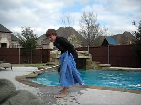Jumping In The Pool With Clothes On Doovi