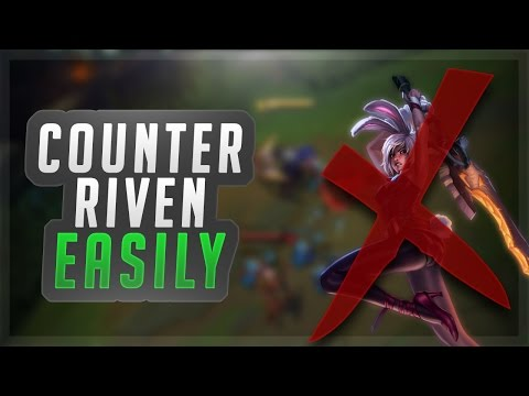 THE ULTIMATE RIVEN COUNTER! RENEKTON VS RIVEN SEASON 7 LEAGUE OF LEGENDS GAMEPLAY!