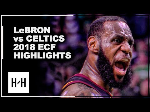 LeBron James EPIC Full Series Highlights vs Celtics | 2018 Playoffs East Finals