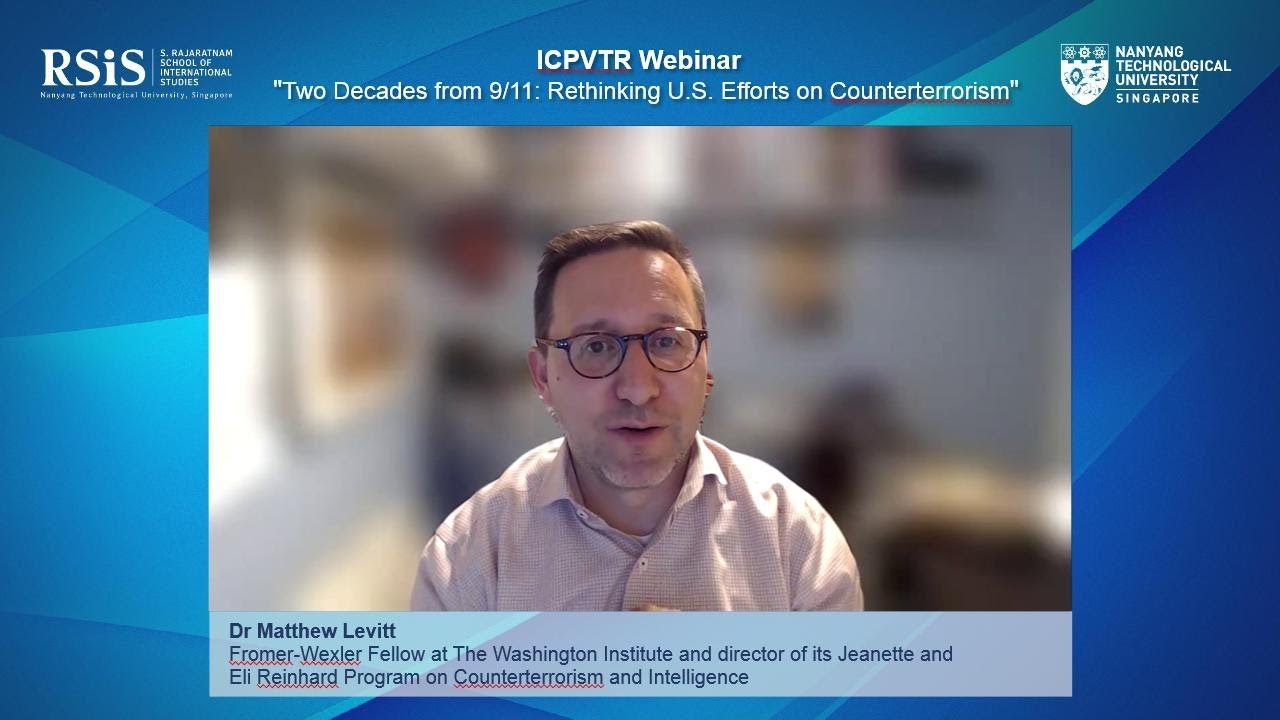 """Download ICPVTR Webinar on """"Two Decades from 9/11: Rethinking US Efforts on Counterterrorism"""" - 27 April 2021"""