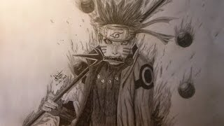 SPEED DRAWING: Naruto Uzumaki  realismo / realism