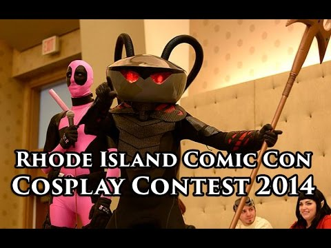 Rhode Island Comic Con Cosplay Contest 2014