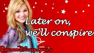 Olivia Holt - Winter Wonderland - Lyrics On Screen