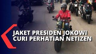 Jaket Karya Lokal yang Dipakai Presiden Jokowi, Jadi Perhatian Netizen