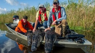 Texas Tussle, A Gator Hunt - Texas Parks and Wildlife [Official]