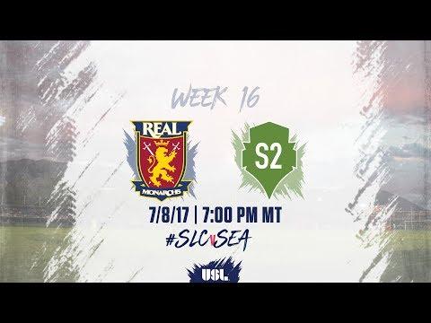 USL LIVE - Real Monarchs SLC vs Seattle Sounders FC 2 7/8/17
