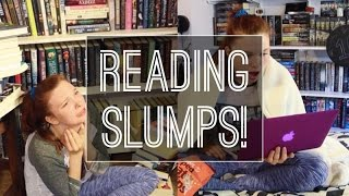 Reading Slumps... and How to Get Rid of Them!