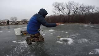 Como? Pescar con gusanos/ como pescar en el hielo