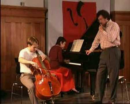 Pergamenschikow Kronberg Academy Cello Masterclass