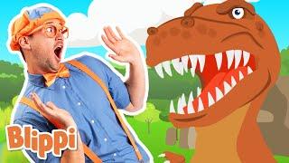 Dinosaur song   Kids Learning Videos   Blippi   Baby Songs   Educational Videos for Kids