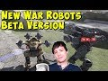 Download mp3 New War Robots BETA Version & Future Graphics Update? WR Gameplay for free
