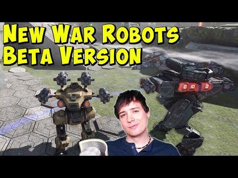 New War Robots BETA  & Future Graphics Update? WR Gameplay