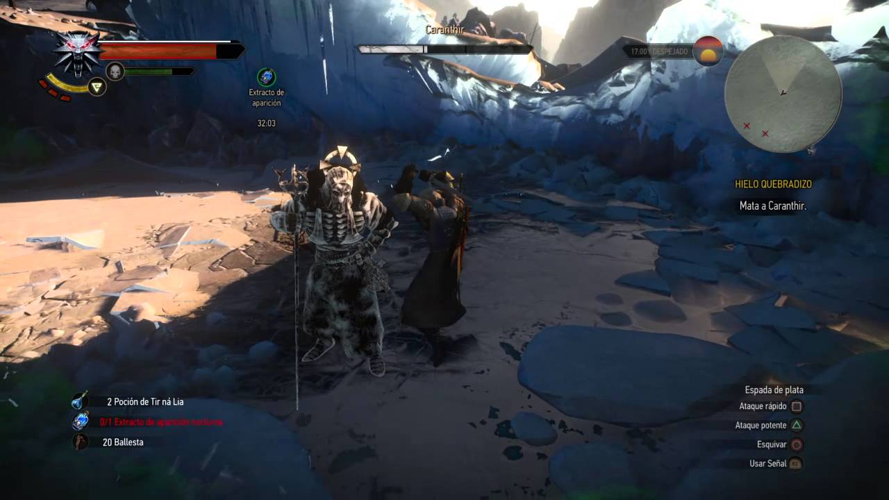 The witcher 3 wild hunt a glitch that froze caranthir - The witcher 3 caranthir ...
