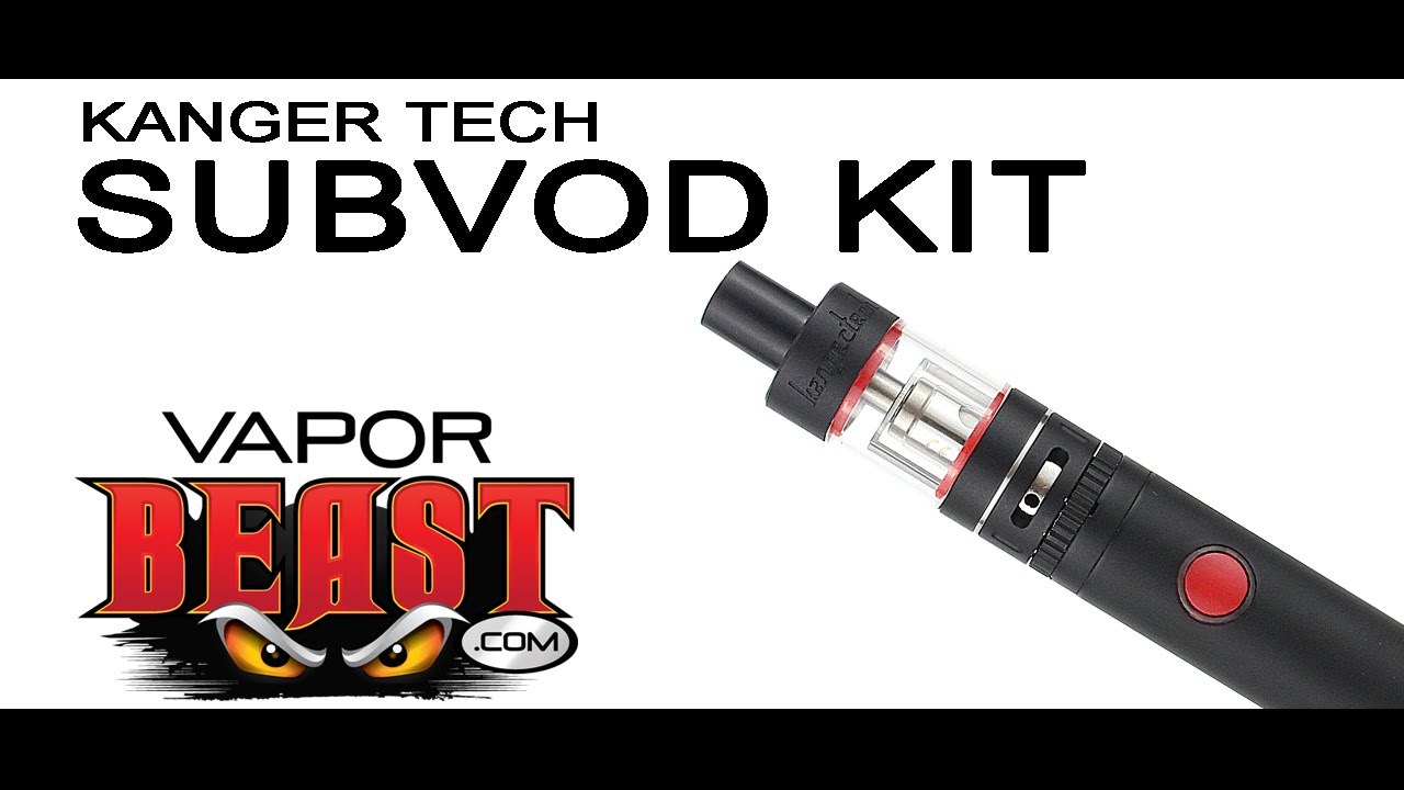 Kanger Subvod Kit by VaporBeast com