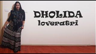 Dholida Video | LOVEYATRI | Garba Dance Choreography | Dance by Aneri | Neha Kakkar & Udit N