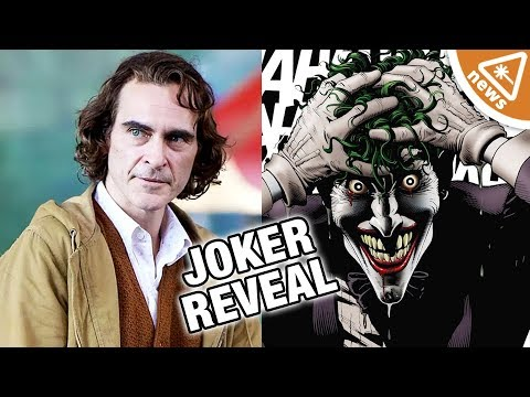 First Look at Joaquin Phoenix's Joker in Full Makeup! (Nerdist News w/ Jessica Chobot)