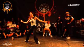 EL J VS WIZZARD  / FINAL / 1on1 Waacking side / BANAK FUNK vol.2 / MONKEEZ TV