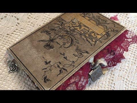 Antique junk journal / life abloom live flip