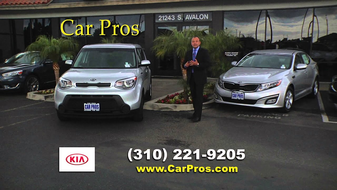 Car Pros Tacoma >> Car Pros Kia Of Carson New Car Commerical Youtube