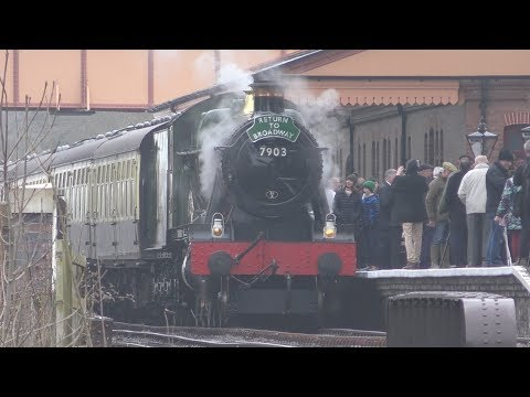 Gloucestershire Warwickshire Railway - Opening to Broadway - Good Friday - 30-03/2018