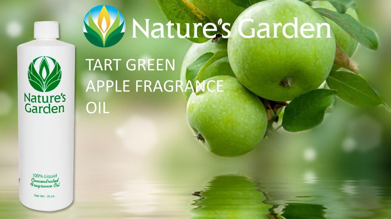 Tart Green Apple Fragrance Oil Natures Garden Youtube