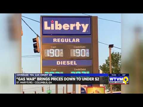 Columbus Gas Prices >> Two Columbus Gas Stations Fighting For Lowest Gas Price Youtube