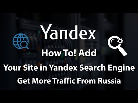 How to Add Your WordPress Site in Yandex Webmaster Tools 2018 - 동영상
