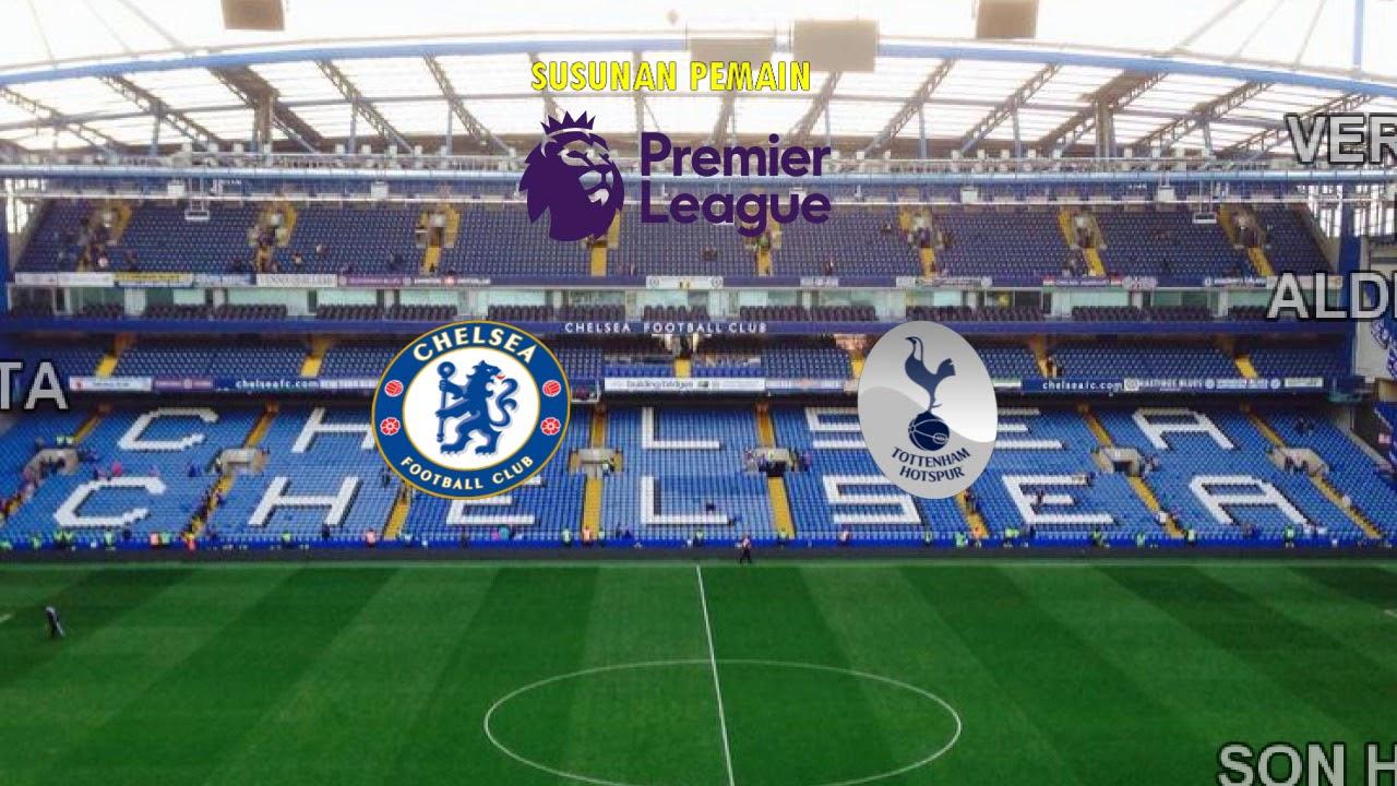 VIDOE Live Streaming Chelsea Vs Tottenham Liga Inggris Pekan Ke 28
