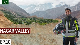 Most Beautiful Village in Pakistan S2. EP10 | Hoper Village & Attabad Lake |Pakistan Motorcycle Tour