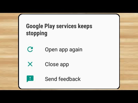 How to fix Google Play Services Keeps Stopping Problem 100% Solution