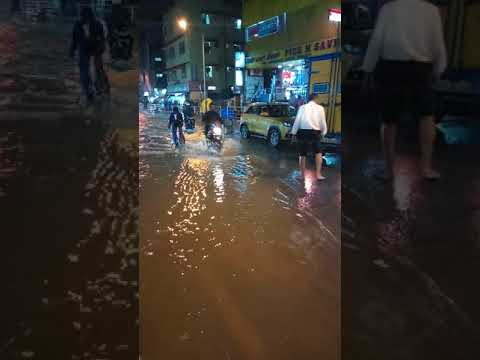 swimming pool on bangalore  roads