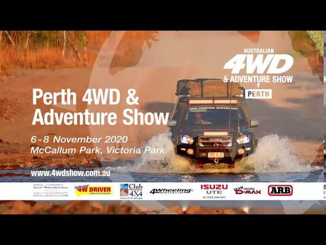 Perth 4WD & Adventure Show 2020 TVC