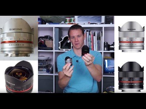 Samyang 8mm F2.8 Fisheye Rokinon 8mm F2.8 Fisheye Review