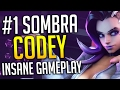 OVERWATCH MOST AMAZING SOMBRA GAMEPLAY YOU WILL EVER SEE