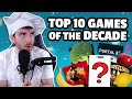 TOP 10 GAMES OF THE DECADE, But Explained With Food