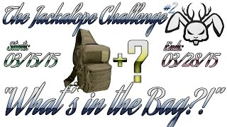 Jackalope Challenge #2 + 3VGear Tactical Bag Review - Outlaw.