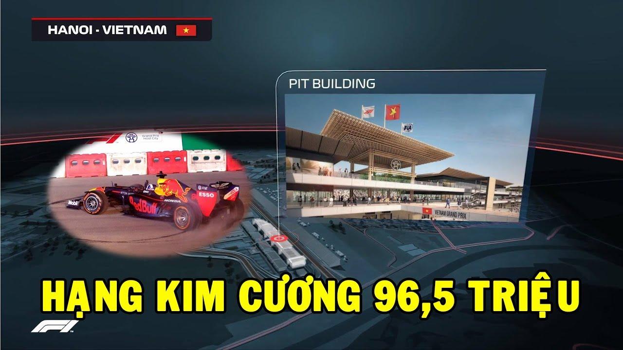 Với mức giá 50 - 100 triệu, vé đắt nhất của F1 tại Việt Nam có gì đặc biệt?