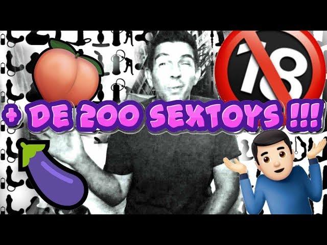 MA COLLECTION DE SEXTOYS POUR HOMMES 🔞🍆  (et pour la stimulation masturbation du pénis)