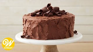 How to Make a Chocolate Cake From Scratch | Wilton