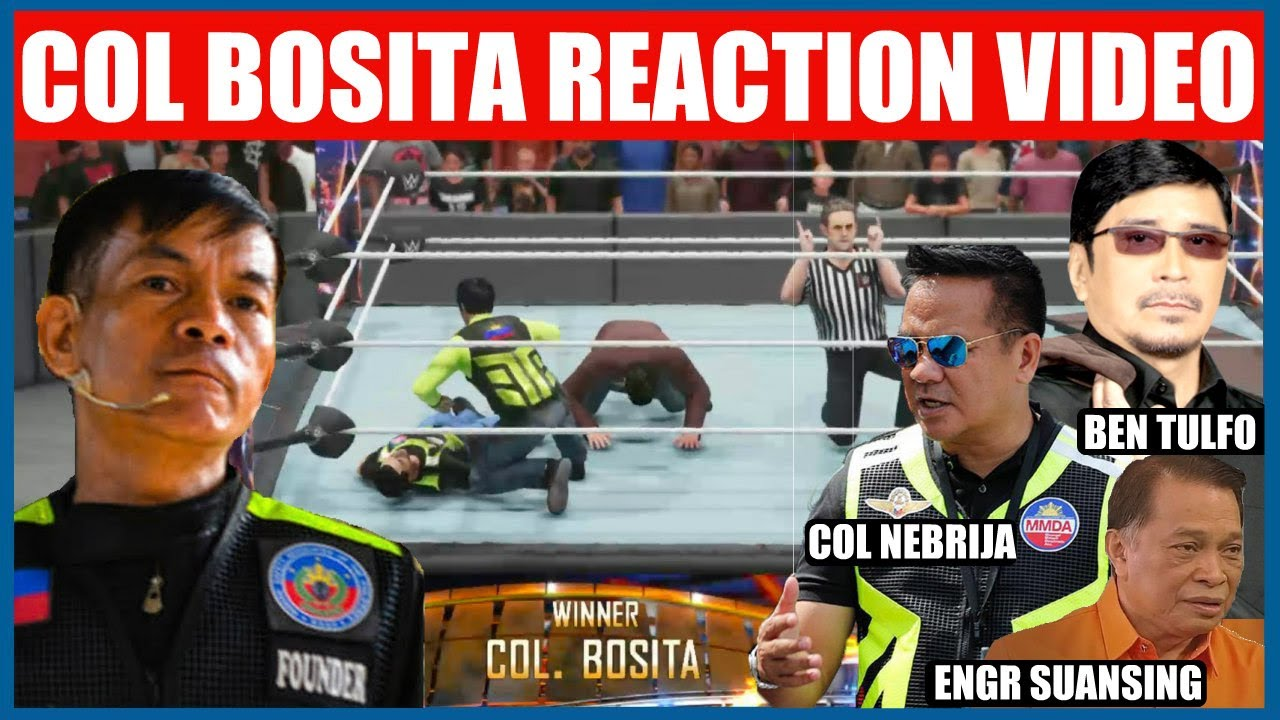 COL BOSITA NAGSALITA NA | MY REACTION VIDEO