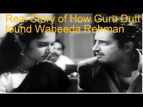 Real Story of How Guru Dutt found Waheeda Rehman