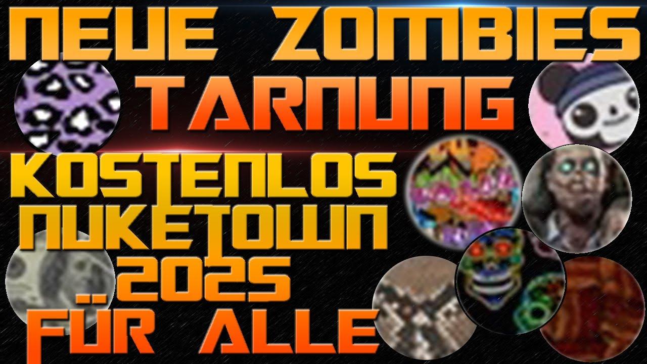 ZOMBIES TARNUNG!! Update!! NEUE EASTER EGGS?! Nuketown ...
