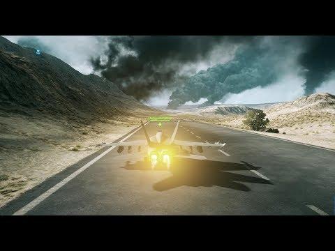 Battlefield 3 | 172-6 | Jet Gameplay on Operation firestorm