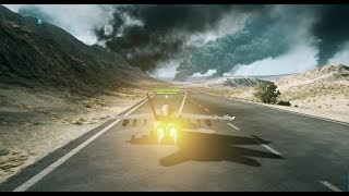 Battlefield 3 | 172-6 | Jet Gameplay on Operation firestorm
