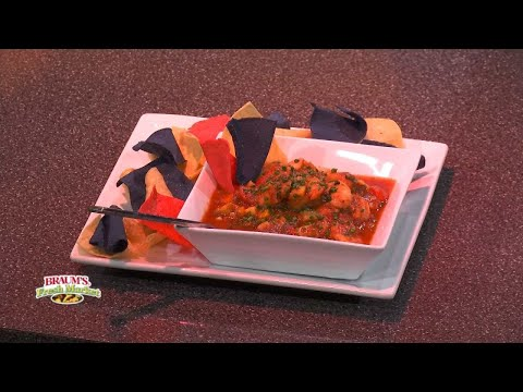 Caribbean Shrimp Gazpacho