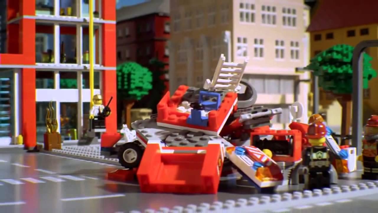 Lego City Straż Pożarna Youtube