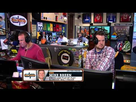 Mike Breen on The Dan Patrick Show (Full Interview) 10/28/14
