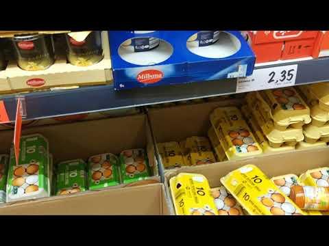 Цены на продукты. Болгария. Lidl. Январь 2019.